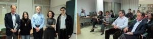 Simposio Enfermedades Respiratorias Vall d'Hebron (2010) - El Dr. Morell, la Dra. Villar, el Dr. Colby (Mayo Clinic), la Dra. Montero y el Dr. Majó