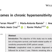 Long‐term outcomes in chronic hypersensitivity pneumonitis