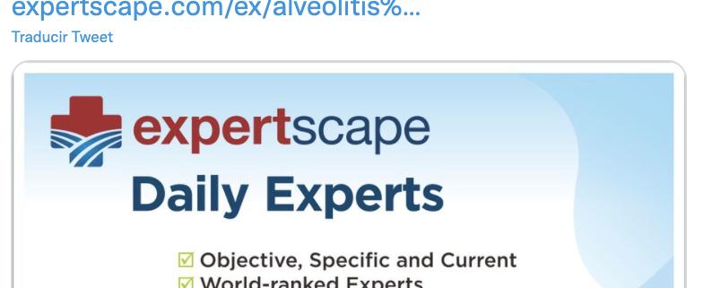 Dr. Ferran Morell, profesional/investigador reconocido en el ranking médico mundial 'ExpertScape'
